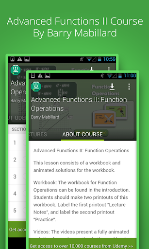 Function Operations Course