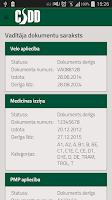 Screenshot of CSDD e-pakalpojumi