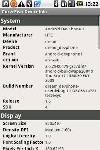 DeviceInfo- screenshot thumbnail