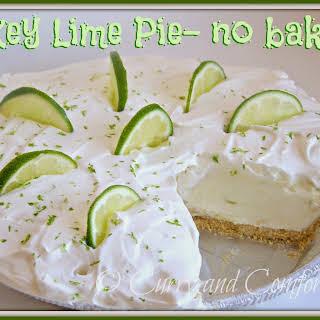 Key Lime Pie- No Bake Version.