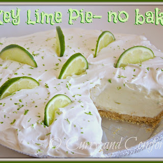 Key Lime Pie- No Bake Version.