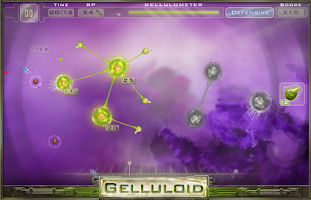 Screenshot of Gelluloid: Micro War Strategy