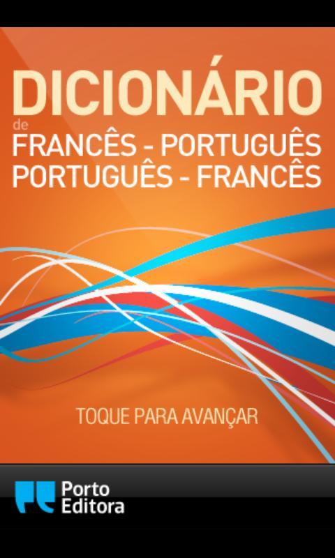 Dicionário Francês-Português- screenshot