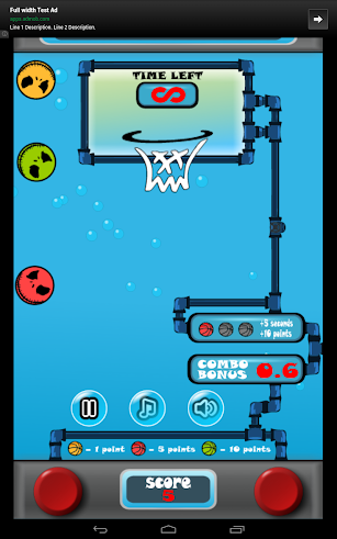 Water Basketball screenshot for Android