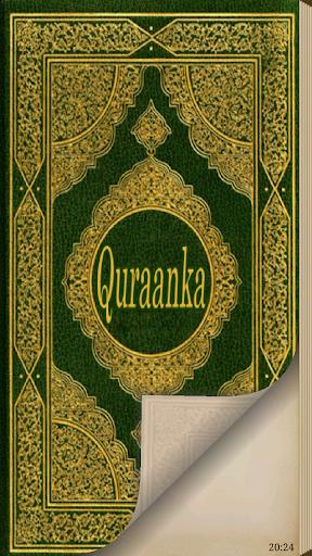 Quraan Quran in Somali
