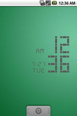 LED Clock Widget (3color) - screenshot
