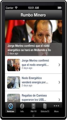 Rumbo Minero - Noticias