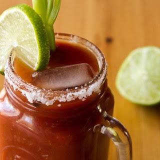 Homemade Vegan Caesar Cocktail