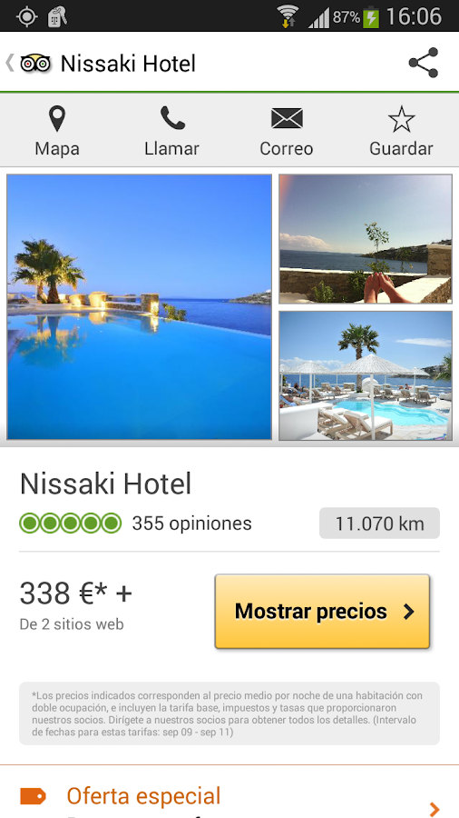 TripAdvisor - screenshot