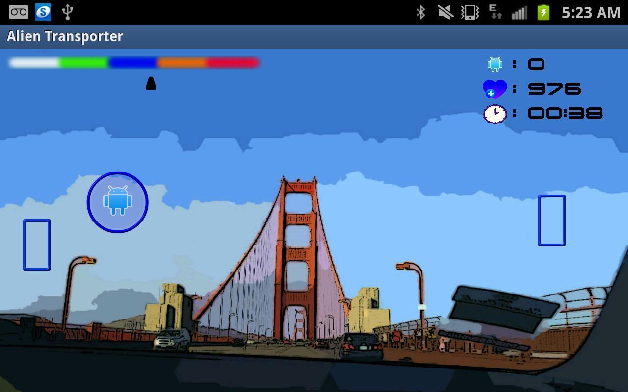 Alien Transporter- screenshot