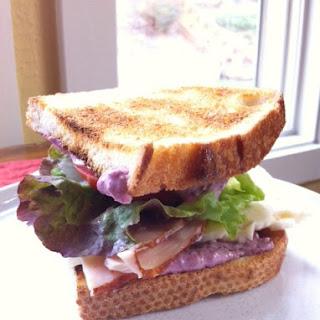 Blackberry Aioli for Leftover Turkey Sandwiches