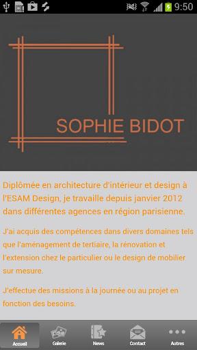 sophie bidot