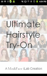 Ultimate Hairstyle Try-On- screenshot thumbnail