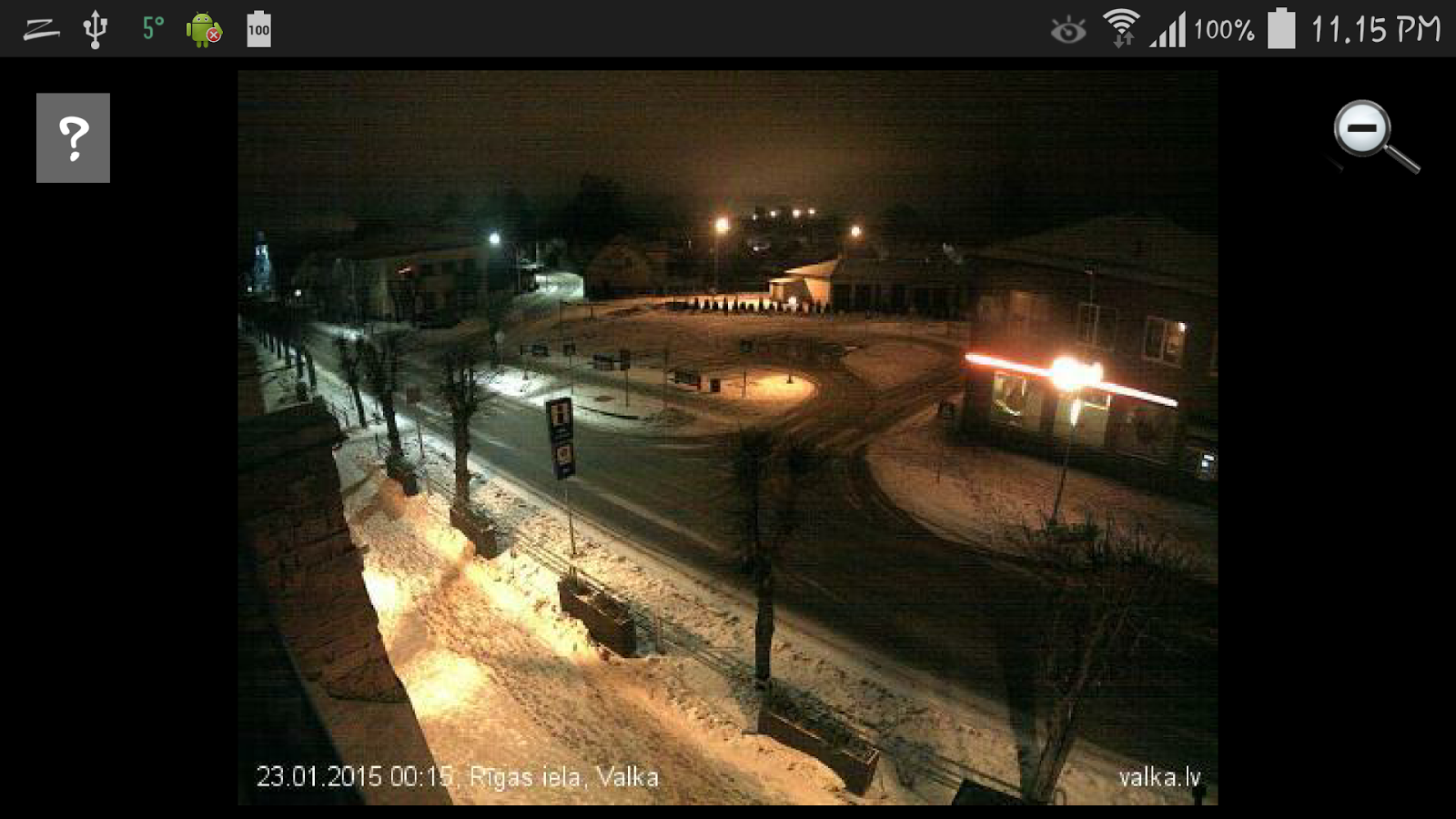 Latvijas vebkameras - screenshot