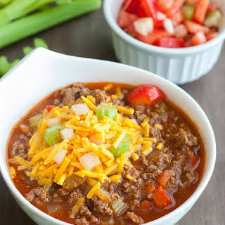 Low Carb Chili.