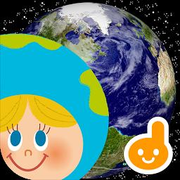 タッチ!うごくちずこっき-子供向け地図・国旗アプリ-