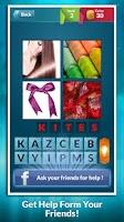 Screenshot of 4 Pics 1 Word - Photo Quiz