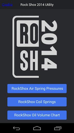 搖滾SHOX氣柱壓力圖