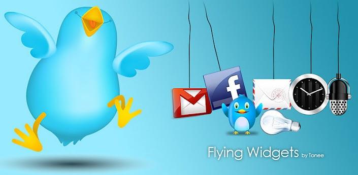 Flying Widgets Plus apk