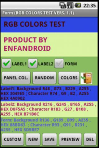 COLORS RGB HEX PANTONE  PRO- screenshot