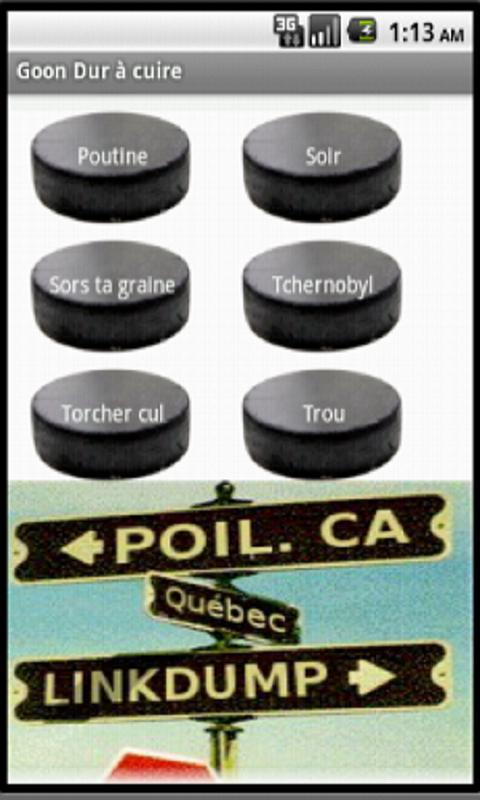 Goon - Quebec Soundboard - screenshot