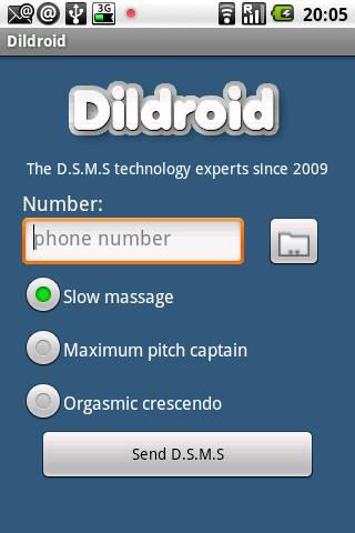 Dildroid - screenshot