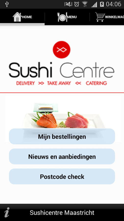 Sushi Centre- screenshot