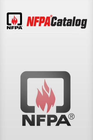 NFPA Catalog- screenshot