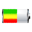 Reggae Rasta Battery Widget logo