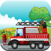 Fire Truck Puzzle Games Free