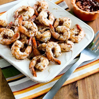 Spicy Roasted Shrimp with Garlic, Sumac, and Aleppo Pepper