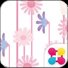 可愛主題 粉紅花朵 icon