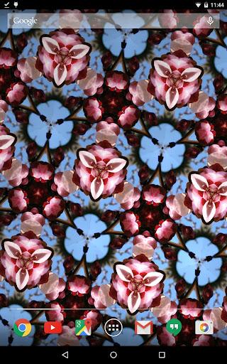 Free Flashy Kaleidoscope LWP