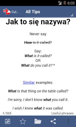Cullen's English Tips