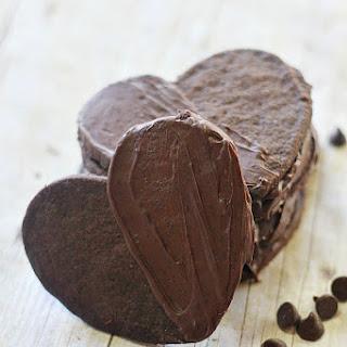 Delicious Double Chocolate Shortbread Cookies