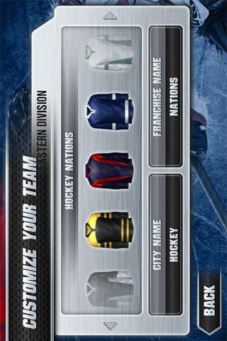 Hockey Nations 2011 - screenshot