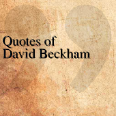 Quotes of David Beckham