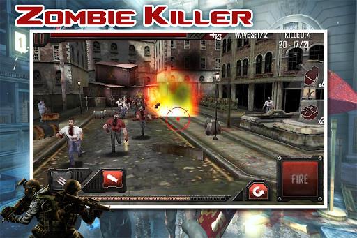 Zombie Destroy Gunners 3D