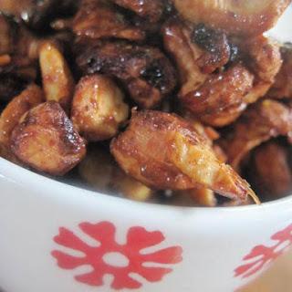 Honey and Mustard Roasted Cashews Recipe