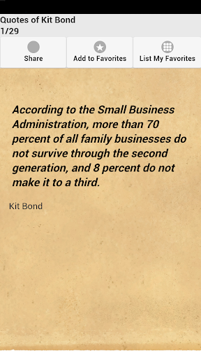 Quotes of Kit Bond