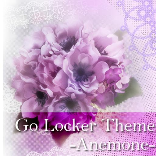 GO Locker テーマ-Anemone- LOGO-APP點子