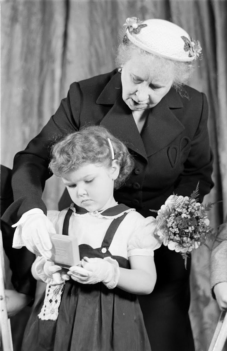 Bess Truman With Cerebral Palsy Children