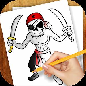 家庭片App 学画画海盗 LOGO-3C達人阿輝的APP