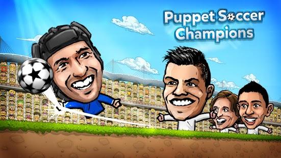 Puppet Soccer Champions 1.0.45 MOD APK (Unlimited Money)