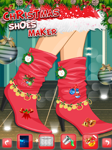 Christmas Shoes Maker 2- screenshot thumbnail