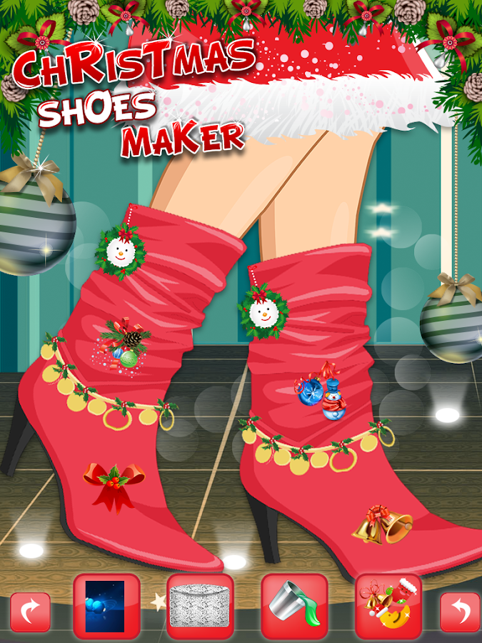 Christmas Shoes Maker 2- screenshot