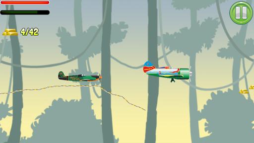 Aircraft Scribble Flight