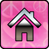 Pink Love GO Launcher Ex Theme