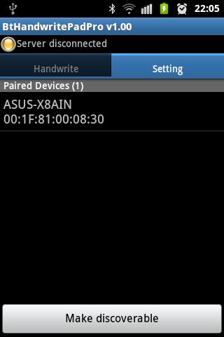 Bluetooth Handwrite Pad Pro- screenshot