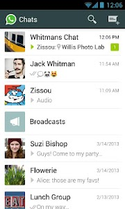 WhatsApp Messenger is a messaging app available for Android together with other smartphones WhatsApp Messenger v2.12.104